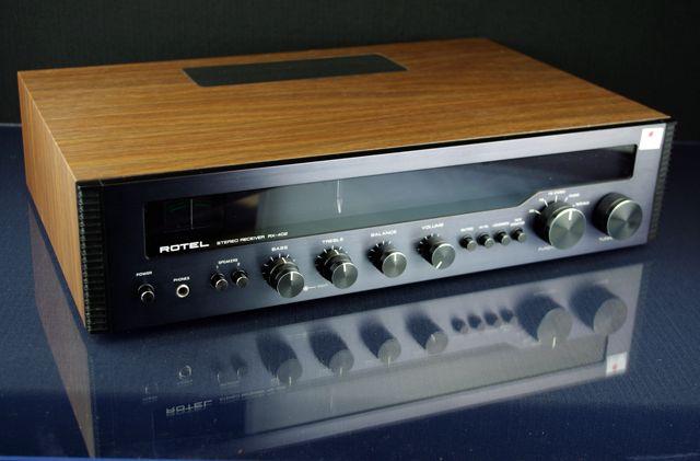 Rotel RX-402   Classic Hi-Fi