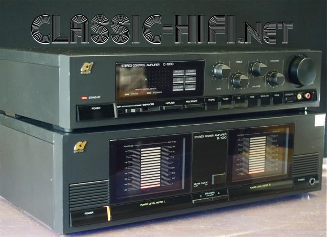 Sansui C 1000 B 1000 Classic Hi Fi